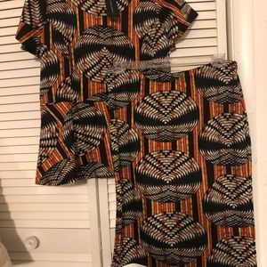 NWT Top and Skirt Set by Ashley Stewart